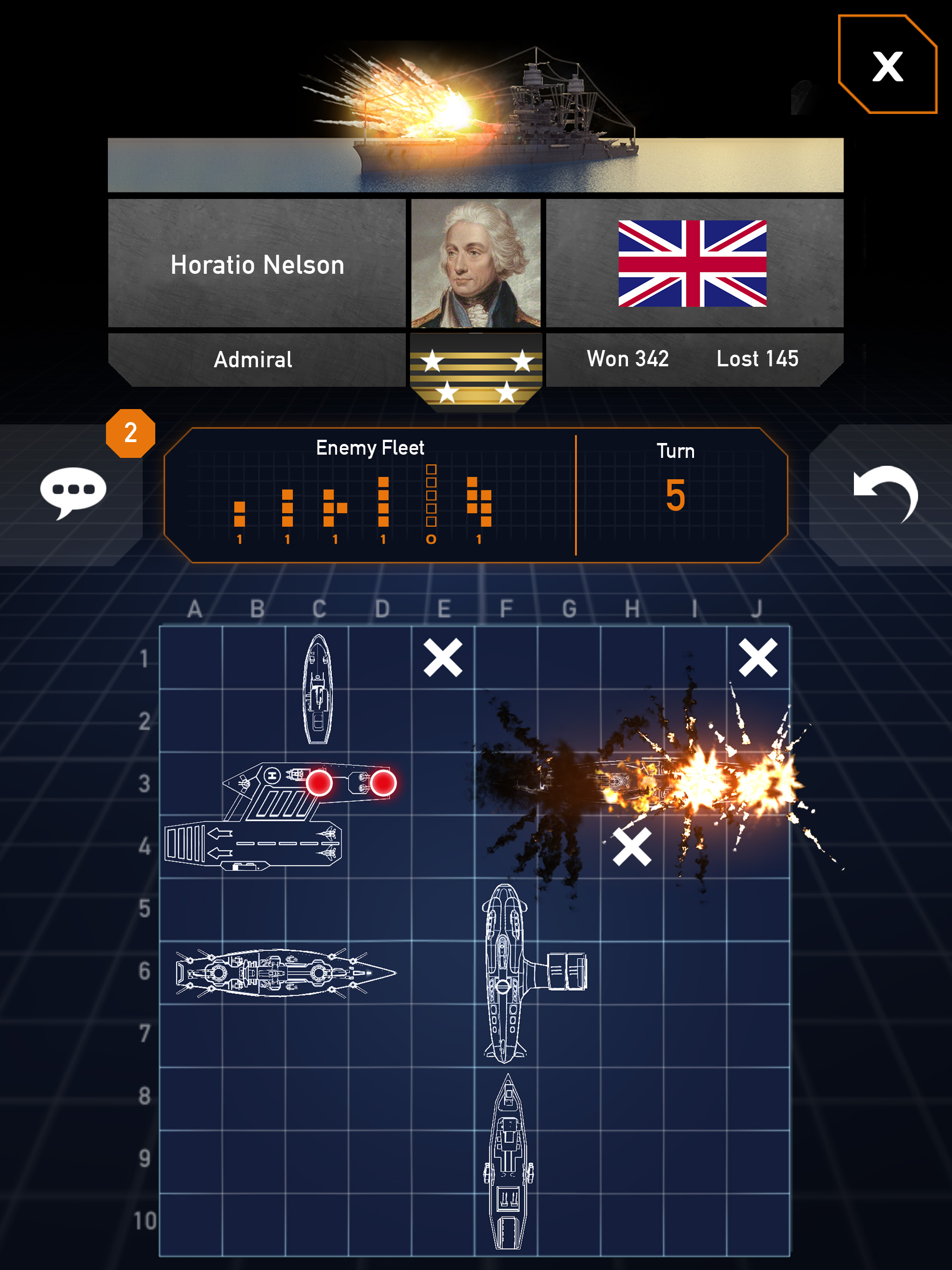 We Talk To Smuttlewerk About What Distinguishes Fleet Battle From Other Battleship Style Games Articles Pocket Gamer
