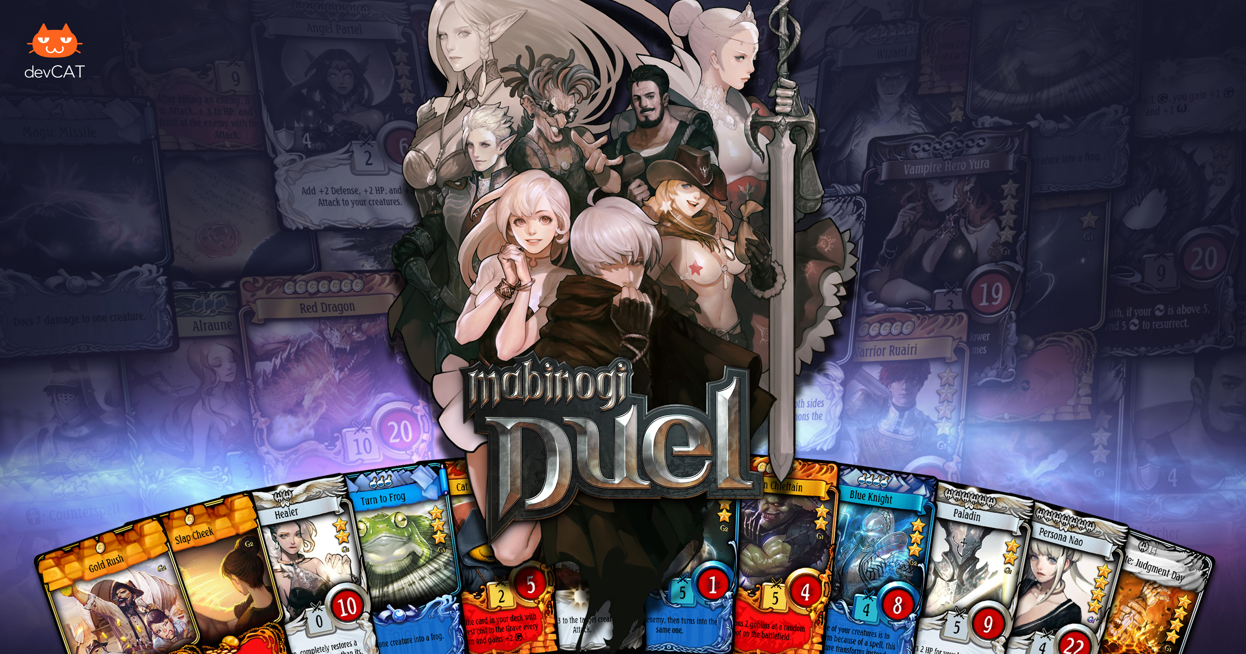 Upcoming Mabinogi Duel is a Hearthstone-like card battler