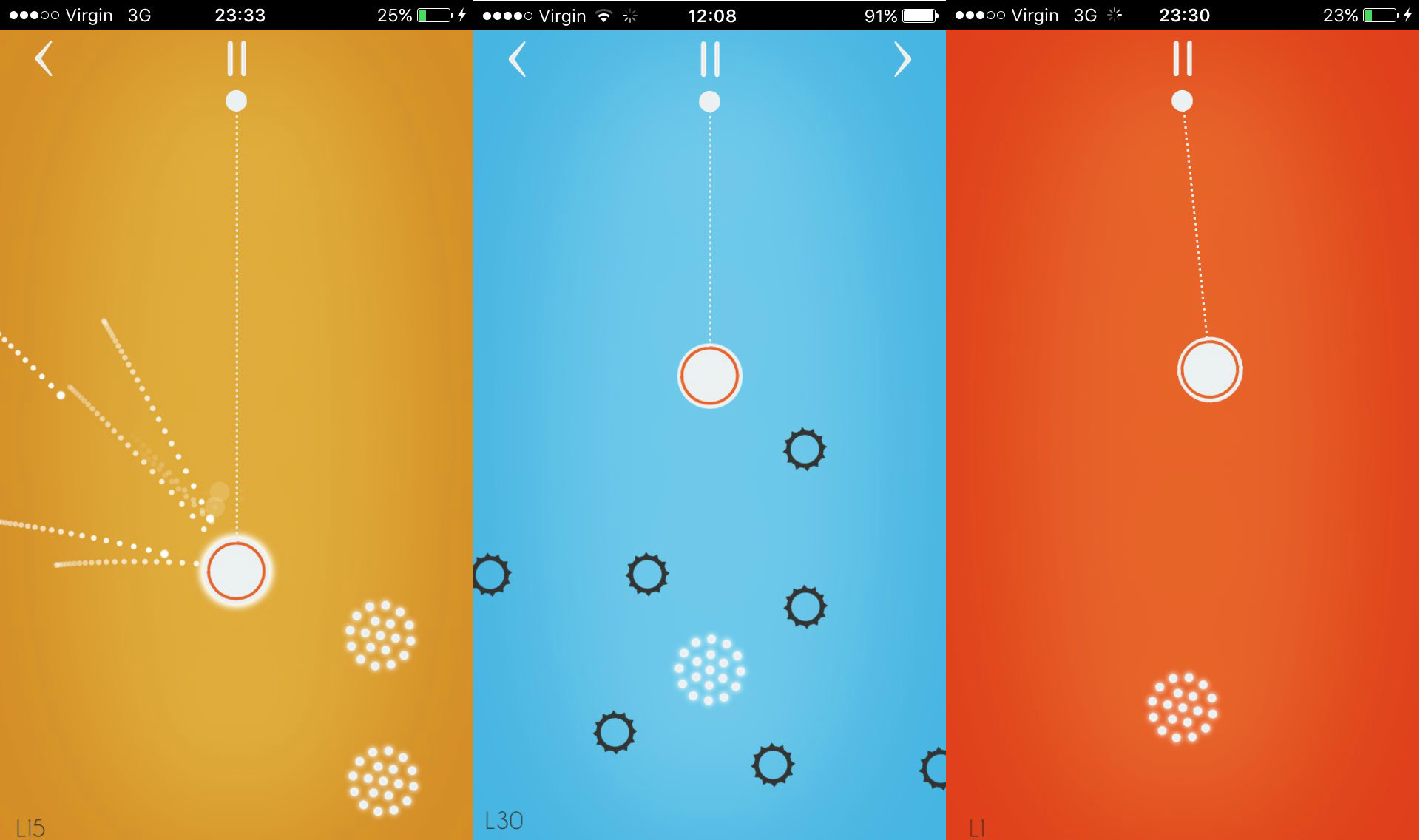 Swing with precision in abstract arcade game Pendulum | Articles