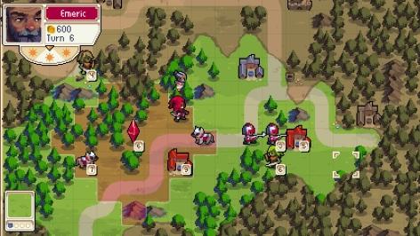 Wargroove Switch Screenshot