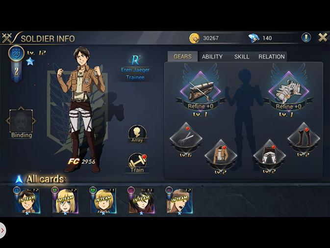 Attack on Titan: Assault cheats, tips - Summoning soldiers guide