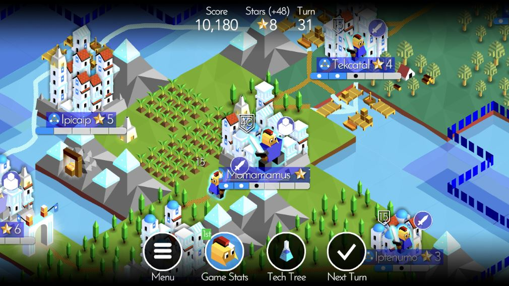 The Battle Of Polytopia continued to be updated in 2018