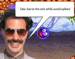 Borat does Magnetic Joe