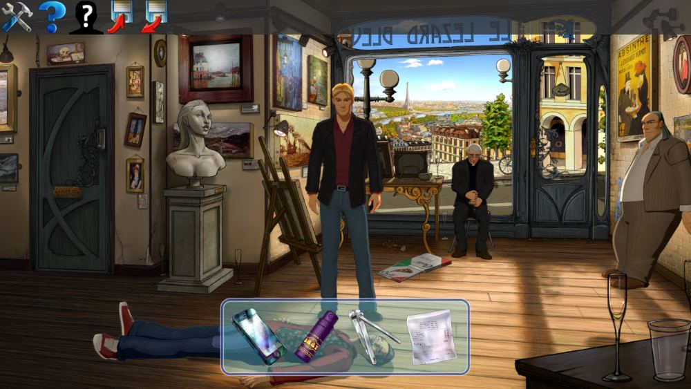 Broken Sword 5 adventure gameplay