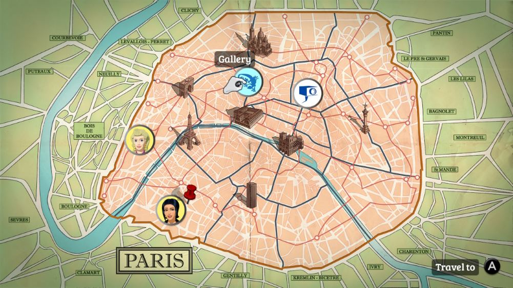 Broken Sword 5 Paris location