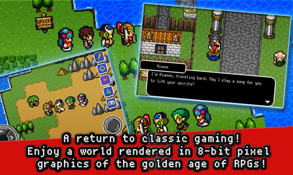 Classic RPG Dragon Sinker hits Google Play for some old