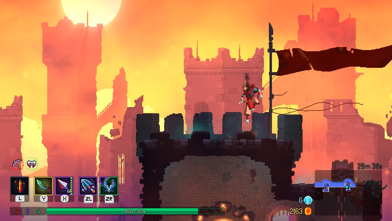 Dead Cells review - Nintendo Switch gets a new action