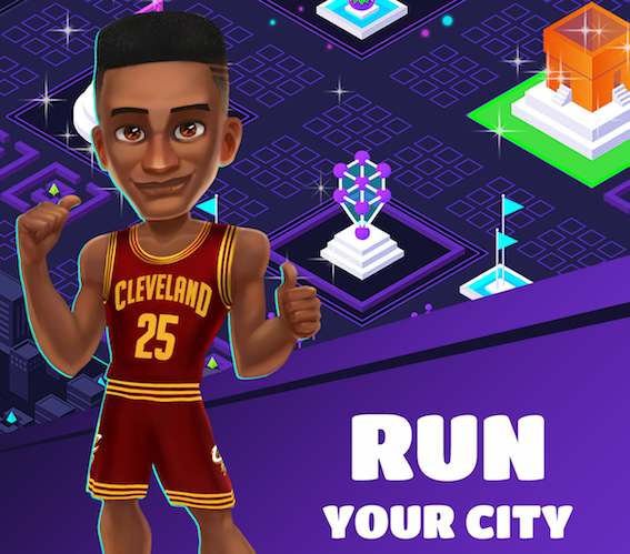 Become a top-class basketball player in NBA Life, out now