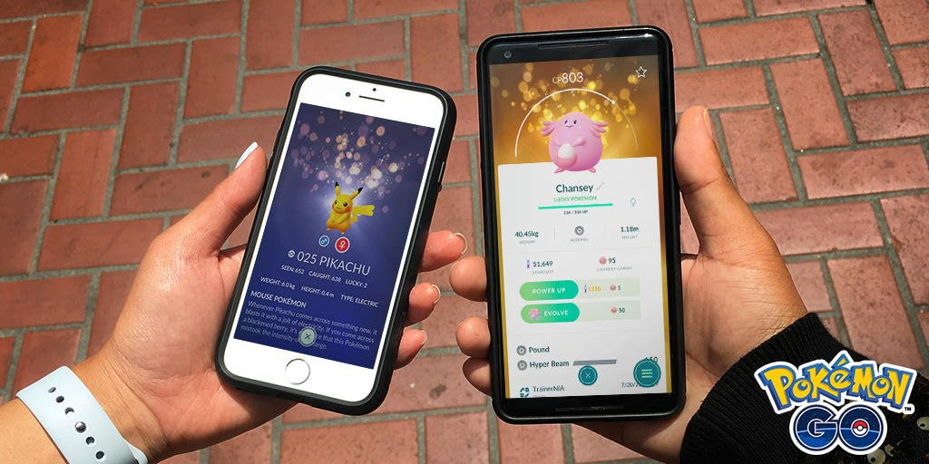 Pokemon Go Lucky Pokemon update