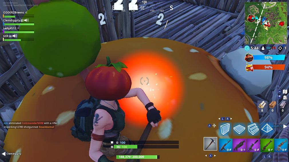 Fortnite Food Fight