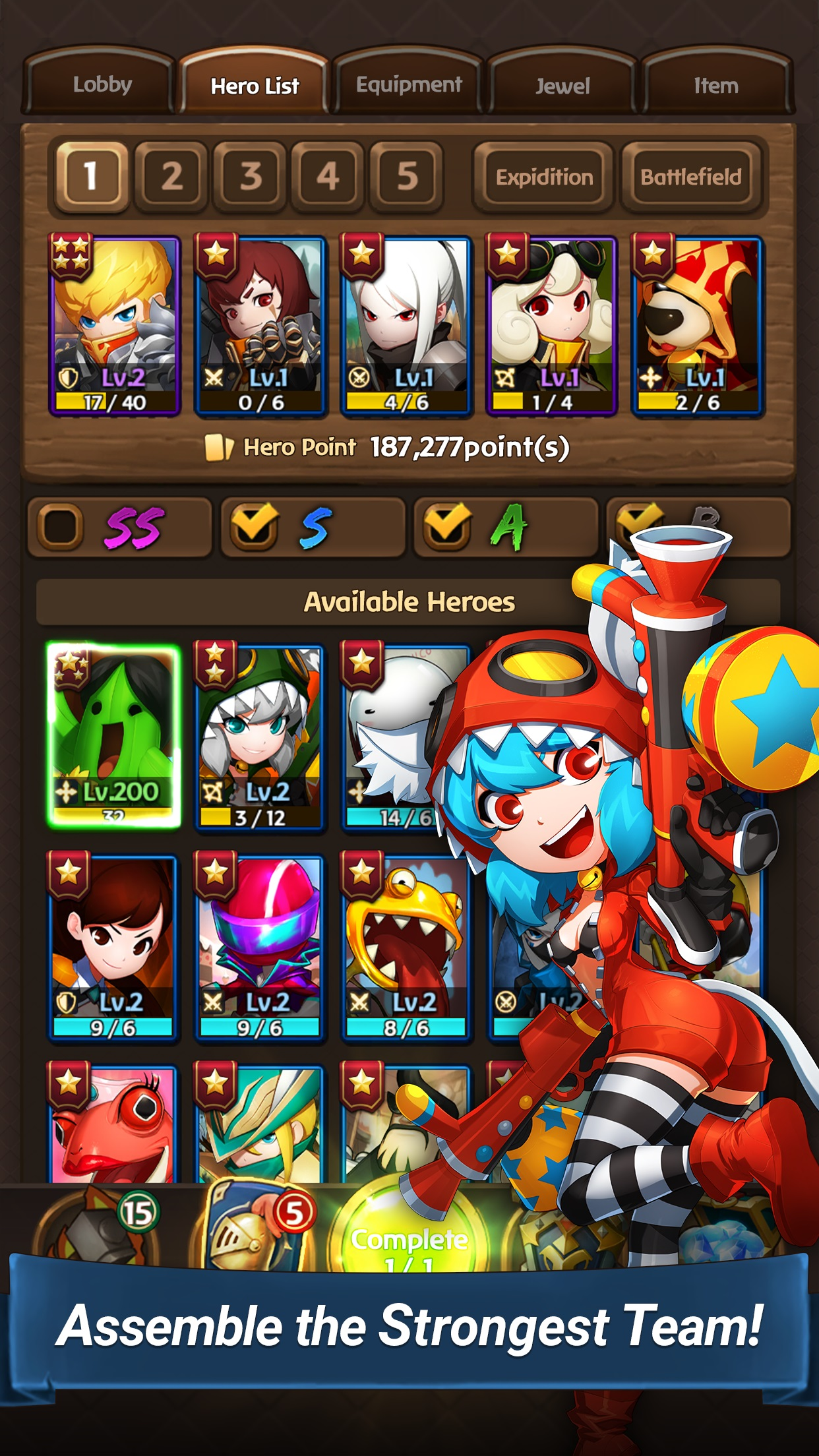 5 things you need to know about Hello Hero Epic Battle