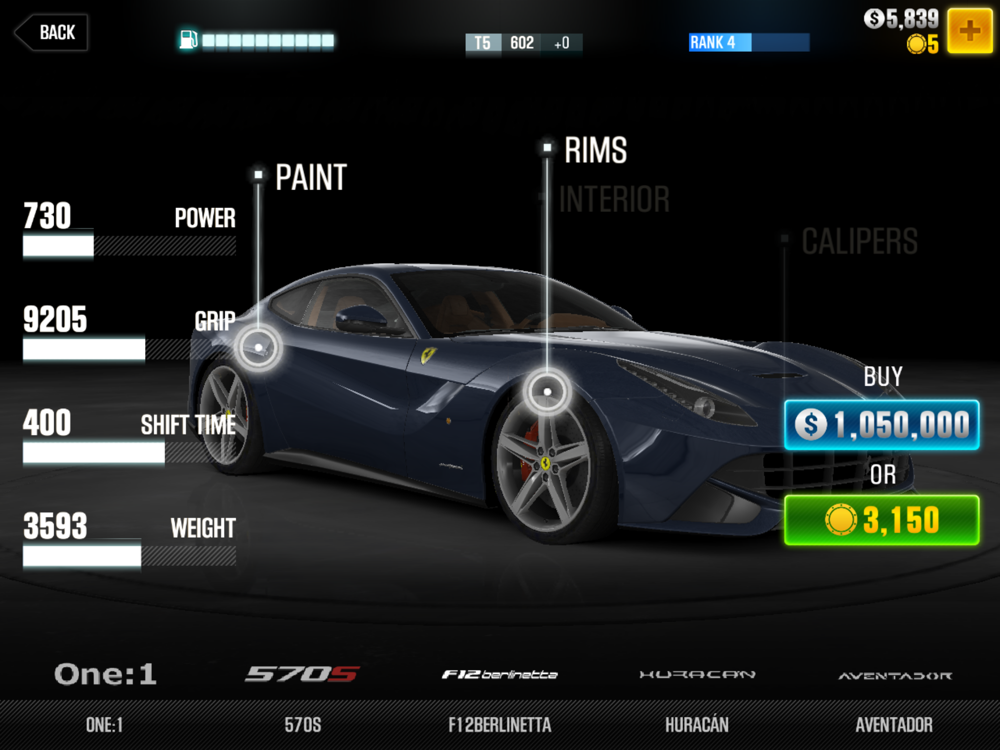 Buying all of the cars in CSR Racing 2 will cost you more