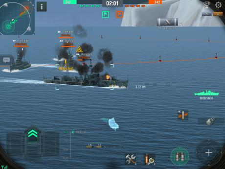 World of Warships Blitz review - Strong sailing followed by