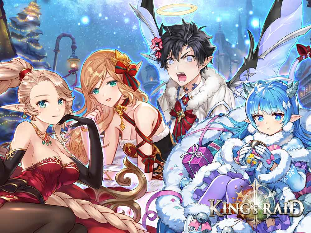 Kings Raid Fanart Contest Christmas 2020 Why this Christmas is the perfect time to delve into King's Raid
