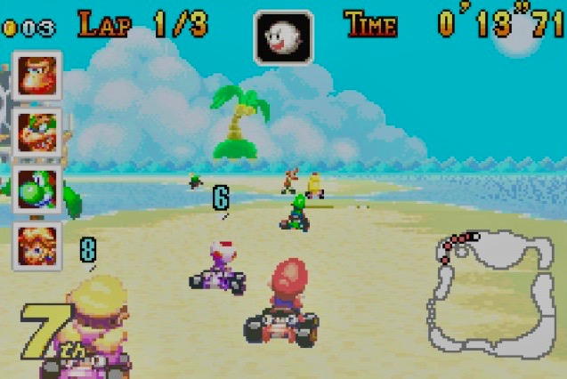 Mario Kart Tour? The series has been on the road for 17