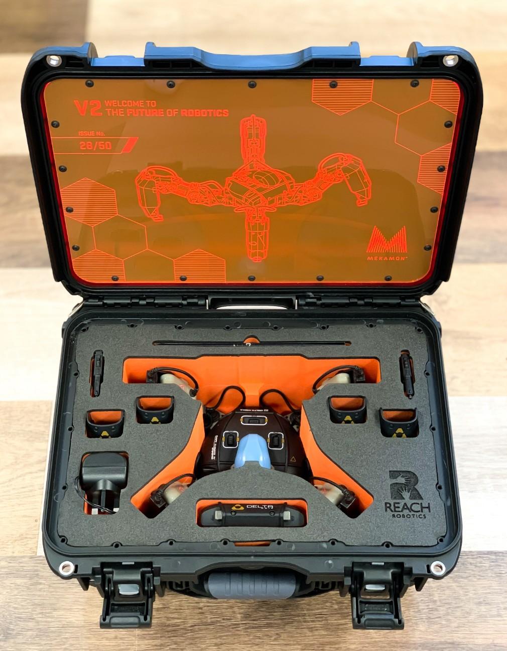 Mekamon V2 screenshot - The limited edition case