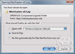 Using NitroTracker on DS 1