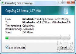 Using NitroTracker on DS 2