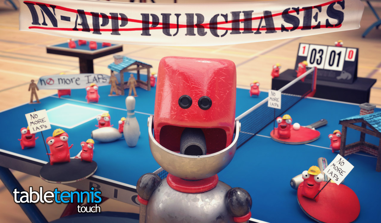 Table Touch Tennis IAPs