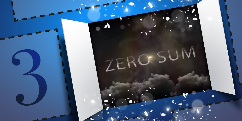 Zero/Sum Advent Calendar Reveal