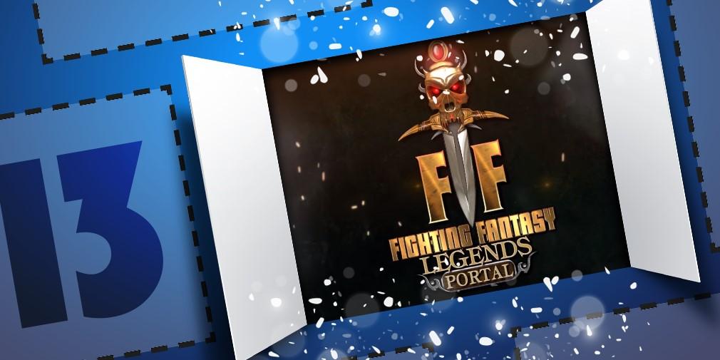 Fighting Fantasy Legends Portal Advent Calendar Reveal
