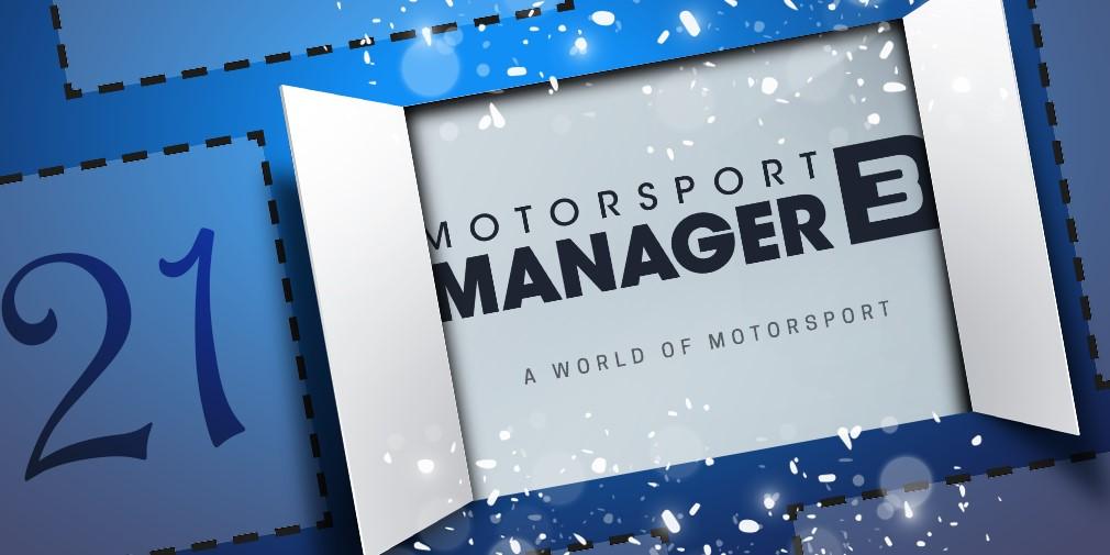 Motorsport Manager 3 Mobile Advent Calendar Reveal