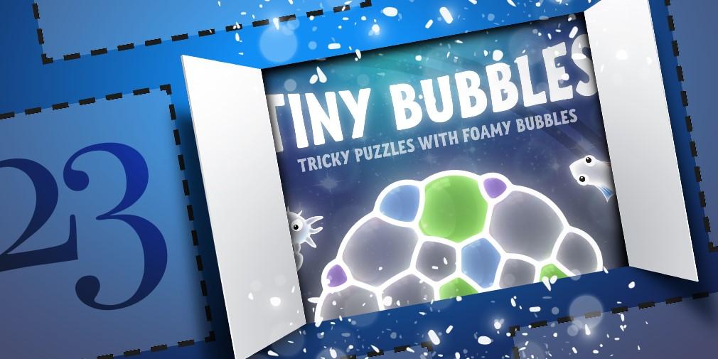 Tiny Bubbles Advent Calendar Reveal