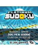 Platinum Sudoku mobile game