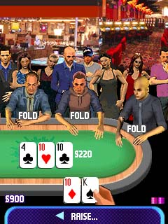 Pokermillion The Masters Texas Hold 'Em mobile game