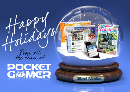Happy Holidays from Pocket Gamer!
