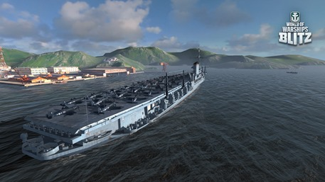 The naval MMO battler World of Warships Blitz arrives on iOS
