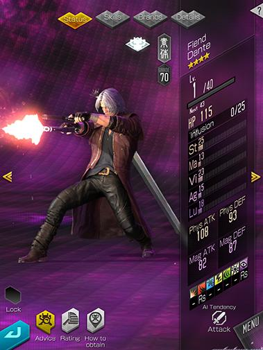 SMT: Liberation Dx2 cheats and tips - Devil May Cry 5 crossover