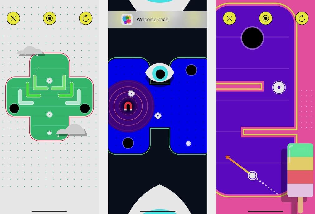 Smash Puck air hockey iOS gameplay