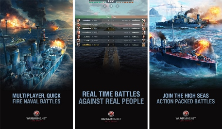 Blow up other people's ships in World of Warships Blitz