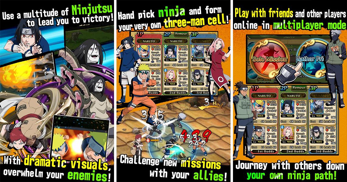 How To Play Naruto Blazing