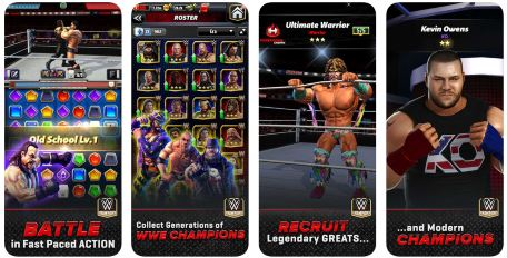 WWE Champions mobile wrestling game