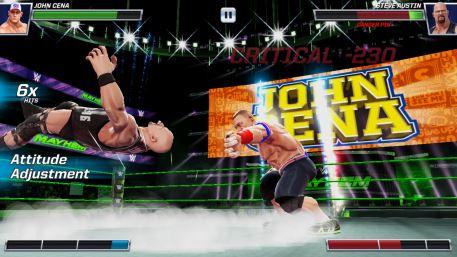 WWE Mayhem mobile wrestling game