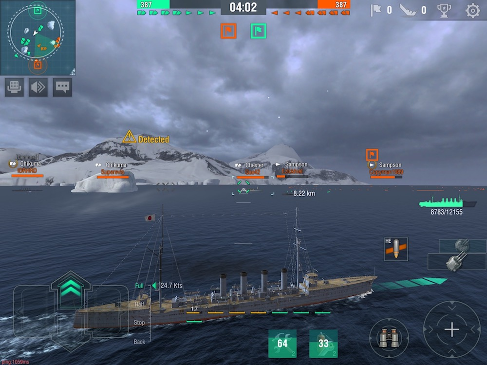 World of Warships Blitz preview - hands-on with Wargaming's