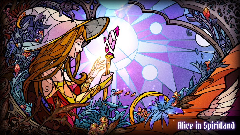 Alice in Spiritland iOS ChinaJoy Promo Art