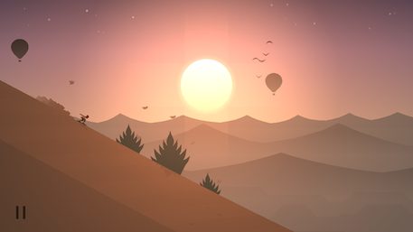 Alto's Odyssey iOS review screenshot
