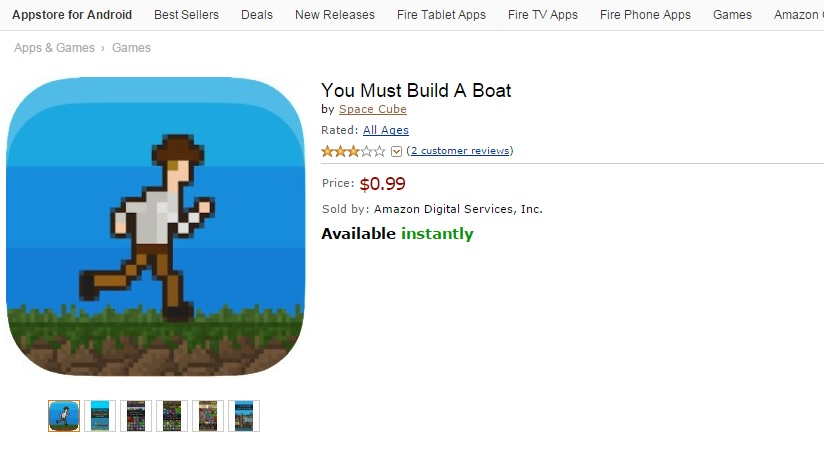 You Must Build A Boat piracy