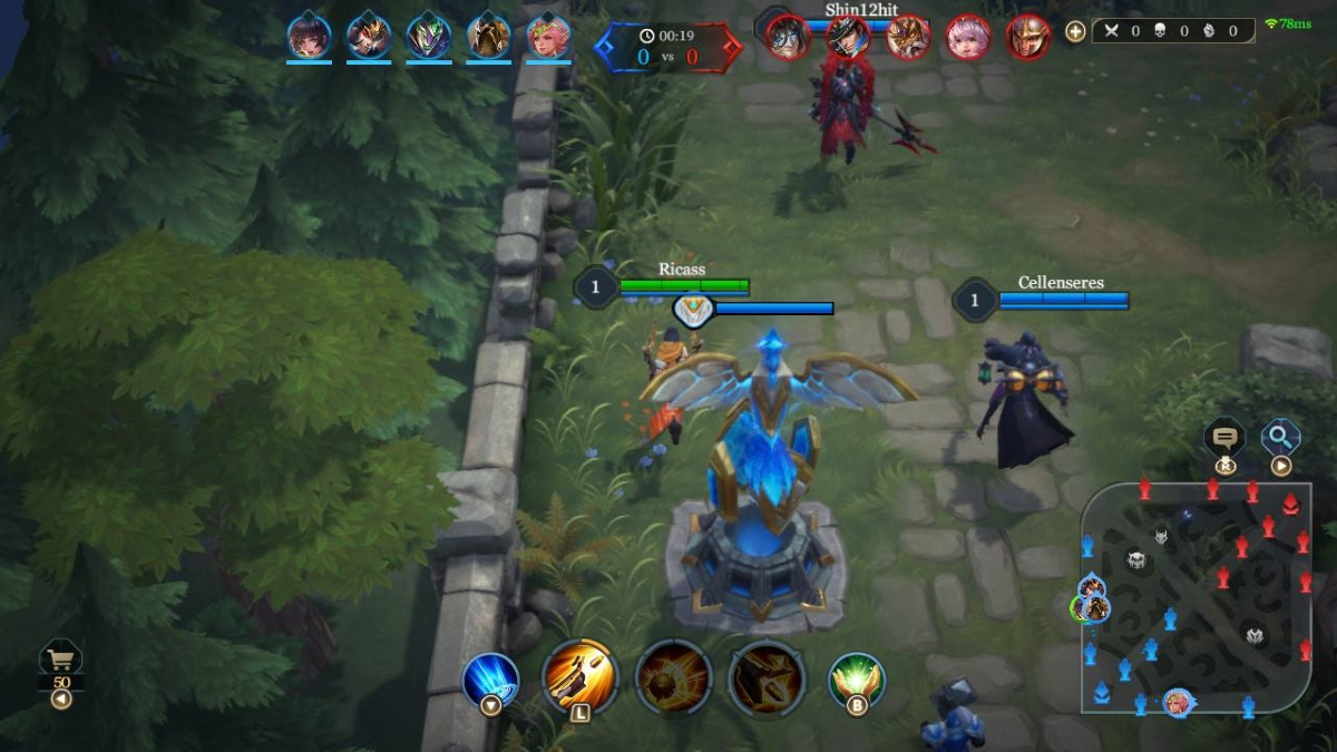 Arena of Valor Switch Screenshot 2