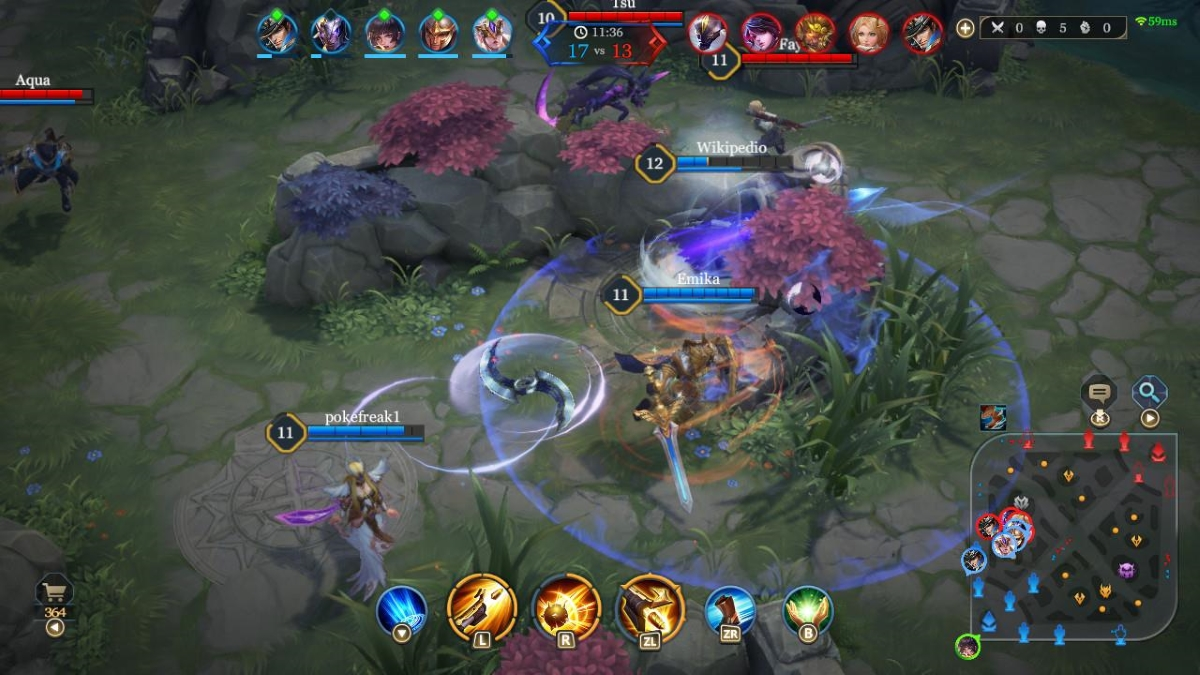 Arena of Valor Switch Screenshot 1