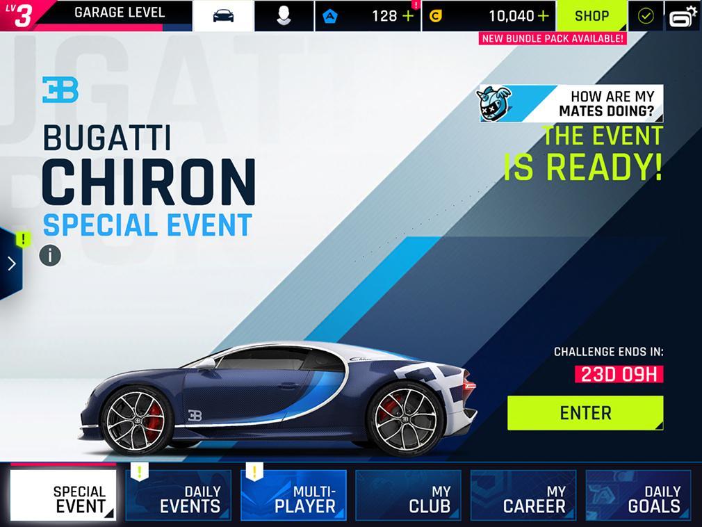 Asphalt 9 Legends Bugatti Chiron