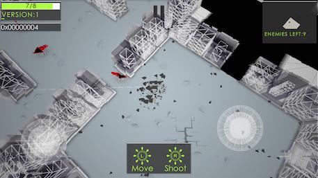 Atomine iOS screenshot