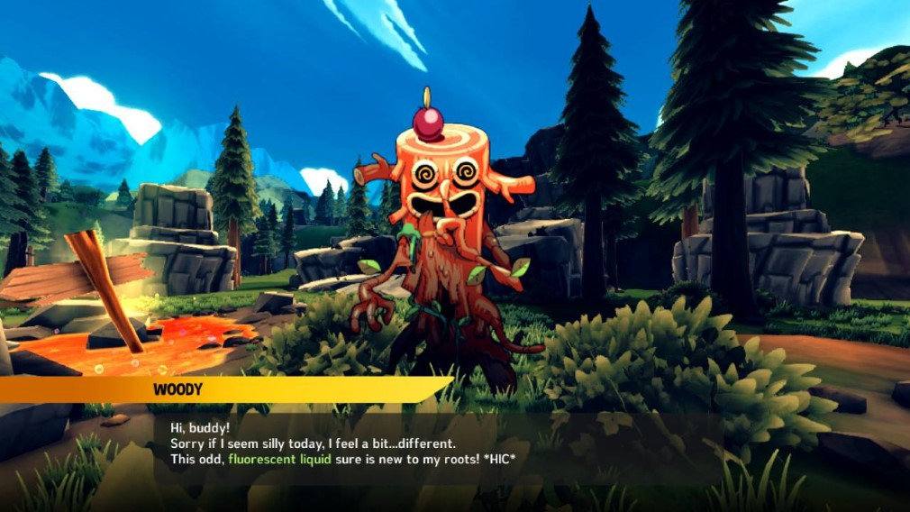 Away: Journey to the Unexpected Switch Screenshot Meeting Woody
