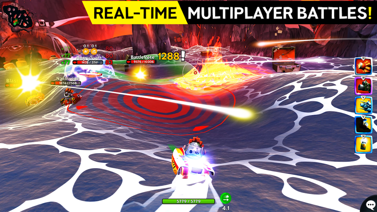 battle bay android ocean fight