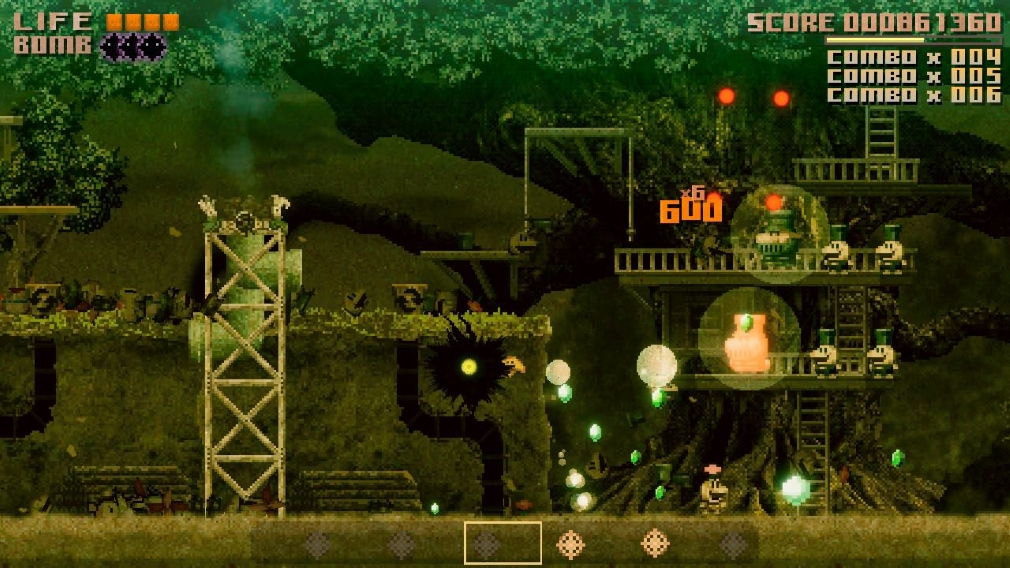 Black Bird Switch Screenshot Level Two Death and Destruction