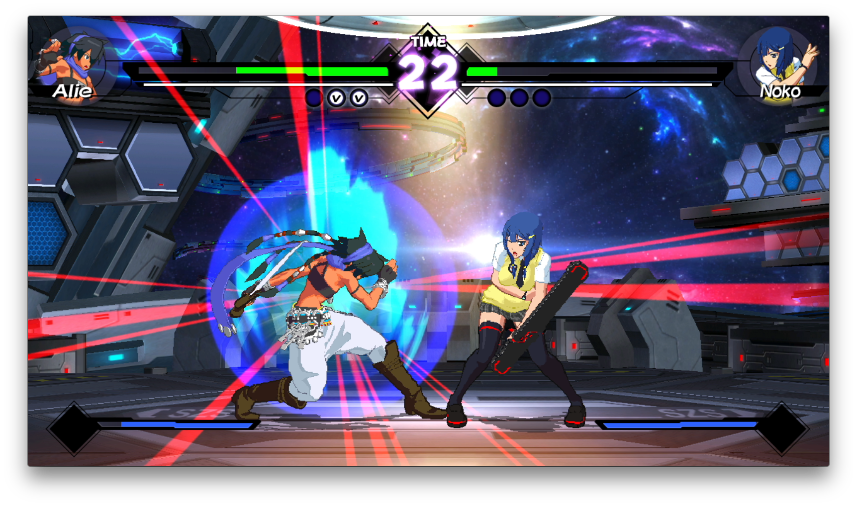 Blade Strangers Switch review screenshot - a special attack