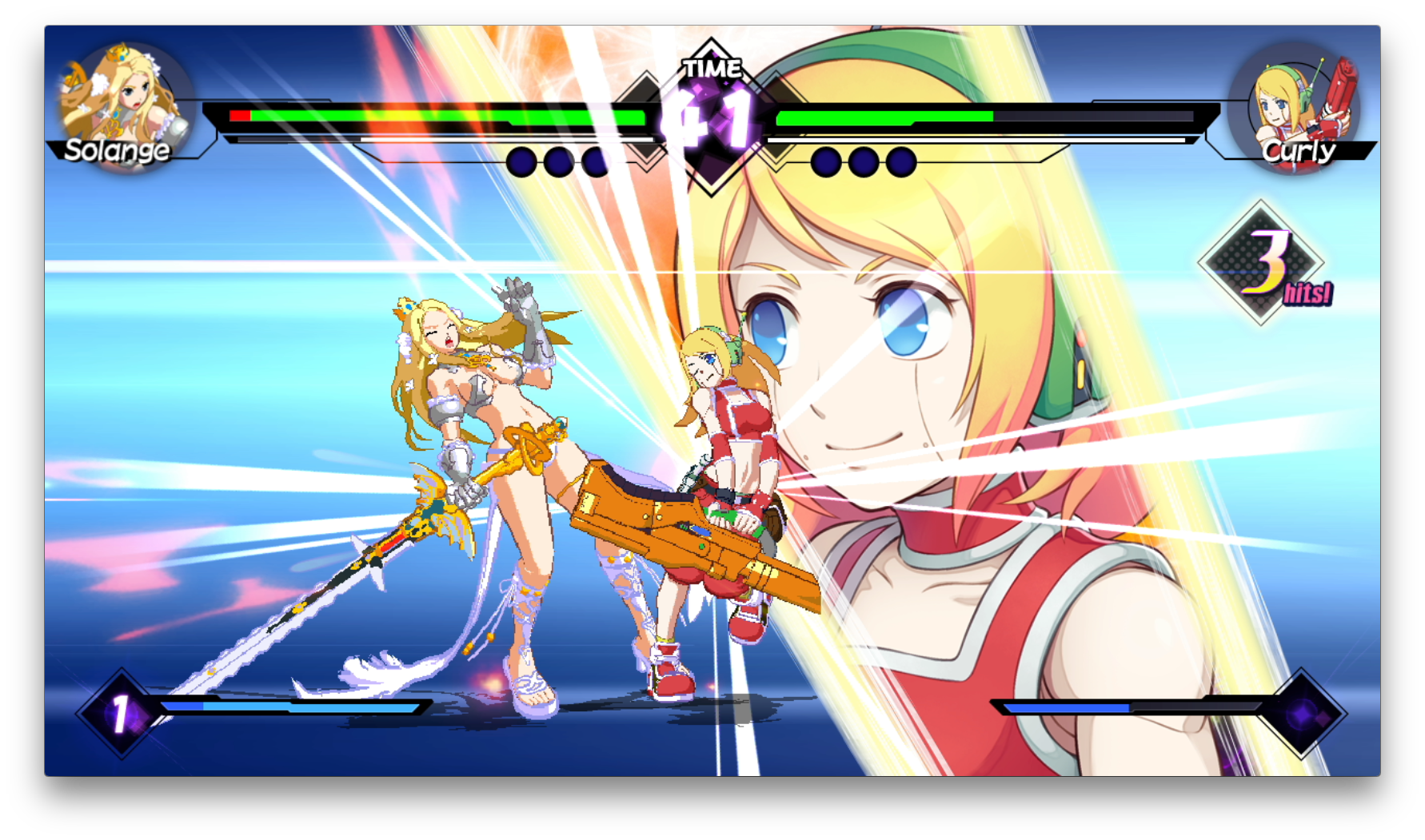 Blade Strangers Switch review screenshot - One of the special moves